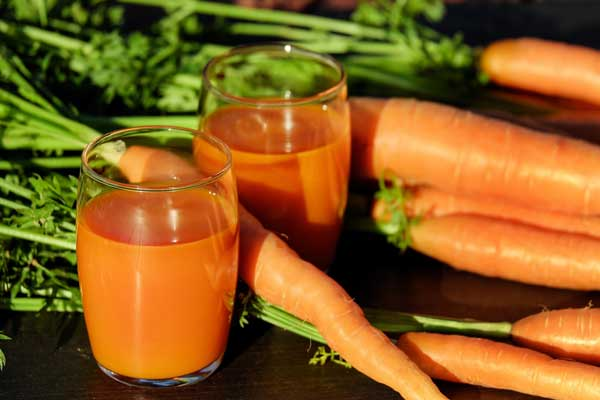 proprietà nutrizionali delle carote