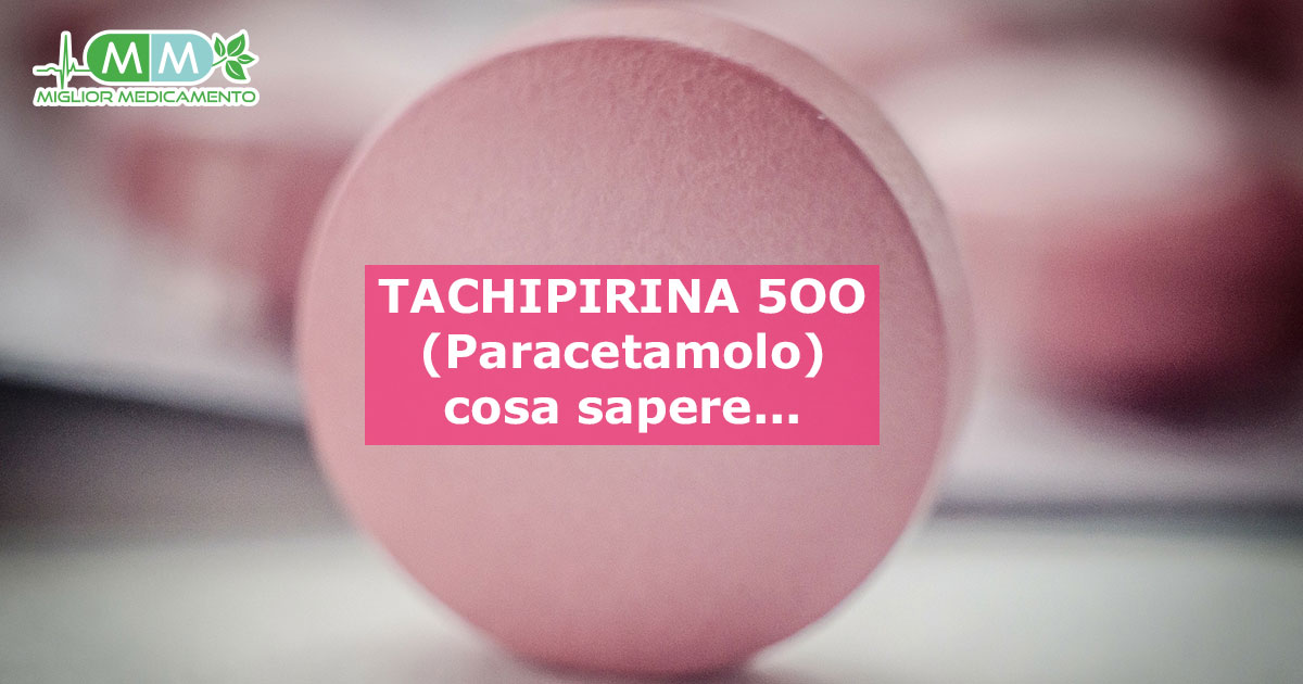 tachipirina 500 compresse